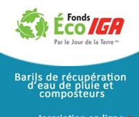 Barils récupérateurs d'eau et composteurs